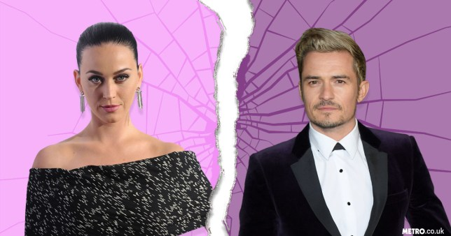 Katy Perry and Orlando Bloom are no longer a couple (Picture: Getty Iamges)