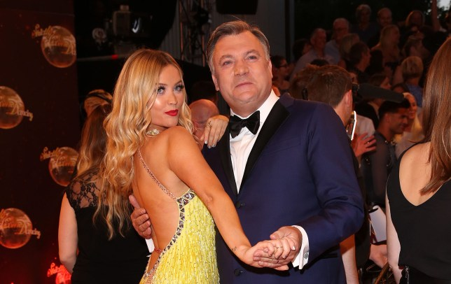 Ed Balls tells Laura Whitmore I'll rub your ankle any time