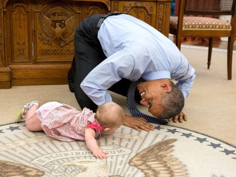 Intimate White House photos sum up exactly why we're going to miss Barack Obama