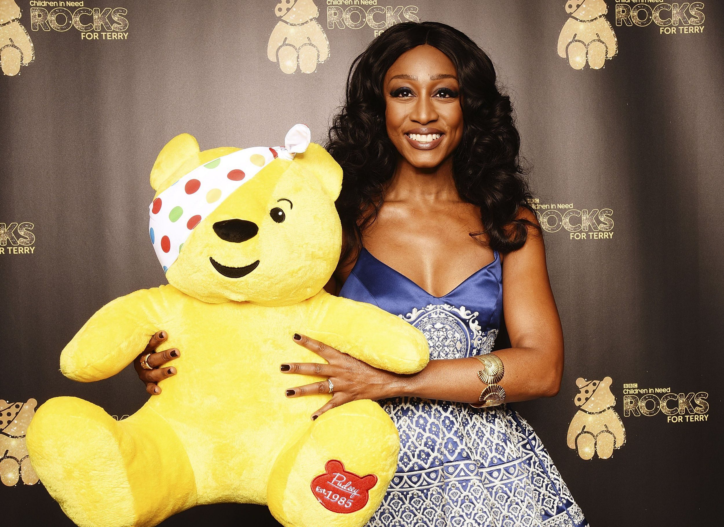 LONDON, ENGLAND - NOVEMBER 01: Beverley Knight supports BBC Children in Need Rocks for Terry at Royal Albert Hall on November 1, 2016 in London, England. (Photo by Dave J Hogan/Dave J Hogan/Getty Images)