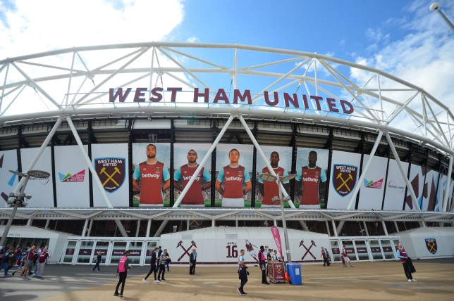 A general view outside the London Stadium ahead of the English Premier League football match between West Ham United and Bournemouth in east London on August 21, 2016. / AFP / GLYN KIRK / RESTRICTED TO EDITORIAL USE. No use with unauthorized audio, video, data, fixture lists, club/league logos or 'live' services. Online in-match use limited to 75 images, no video emulation. No use in betting, games or single club/league/player publications. / (Photo credit should read GLYN KIRK/AFP/Getty Images)