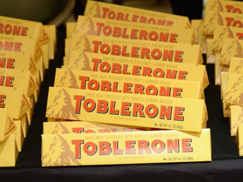 Have you noticed the Toblerone logo's hidden bear?