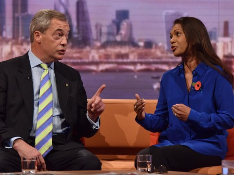 Farage warns of 'riots' over Brexit ruling in clash with Gina Miller