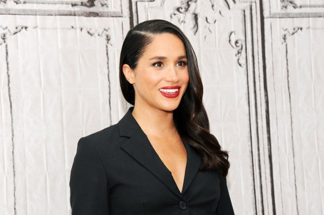 """NEW YORK, NY - MARCH 17: Actress Meghan Markle discusses her role in """"Suits"""" during AOL Build at AOL Studios In New York on March 17, 2016 in New York City. (Photo by Desiree Navarro/WireImage)"""