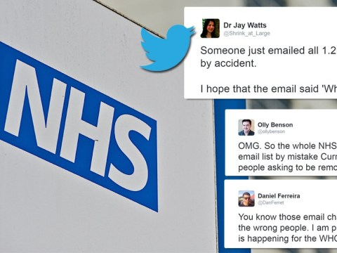 NHS accidentally emails everyone in the NHS