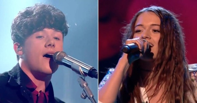 X Factor bosses deny that Emily Middlemas and Ryan Lawrie's romance has affected their rehearsal time behind the scenes. (Picture: ITV)