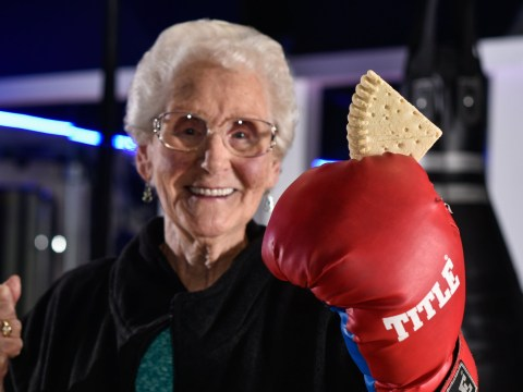 Gym bunny grandma, 87,  pays for membership using shortbread