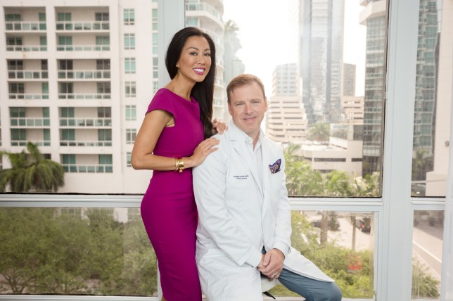 Plastic surgeon 'redesigns' wife as shop window for cosmetic