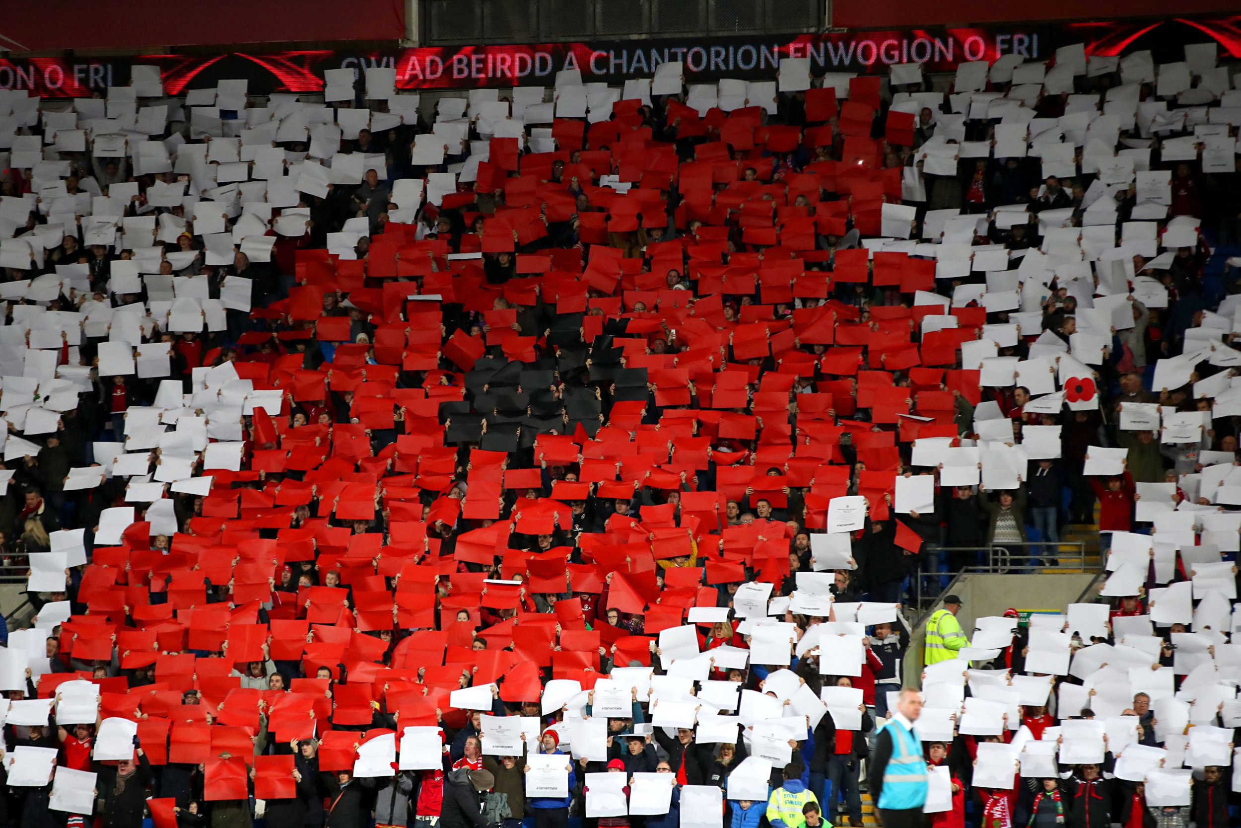 Fifa opens investigation into Wales and Northern Ireland over poppy displays at recent games