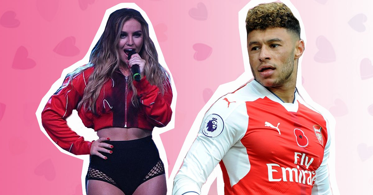 Perrie Edwards dating Oxlade Chamberlain (Mega/Getty)