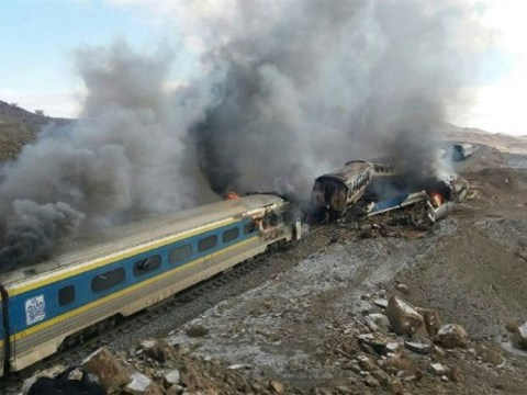 Dozens killed after trains collide in northern Iran