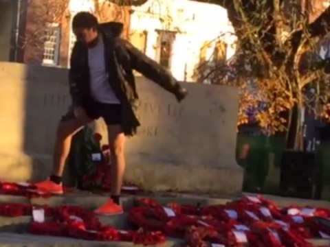 Man arrested after war memorial brazenly destroyed in Southampton