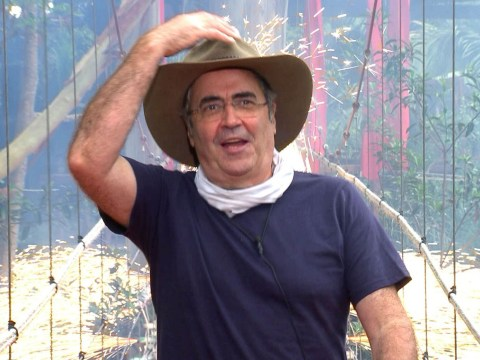 Danny Baker is bragging about his holiday paid for by ITV after leaving I'm A Celebrity jungle