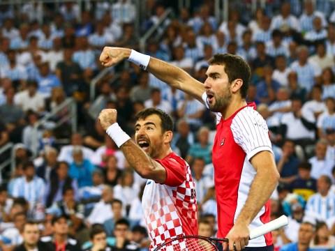 Davis Cup final Day 2 Debrief: Marin Cilic leads Croatia into 2-1 lead against Juan Martin Del Potro's Argentina