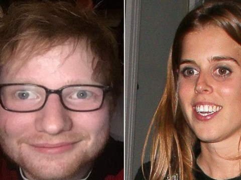 Princess Beatrice 'sliced Ed Sheeran with a sword while trying to 'knight' James Blunt'