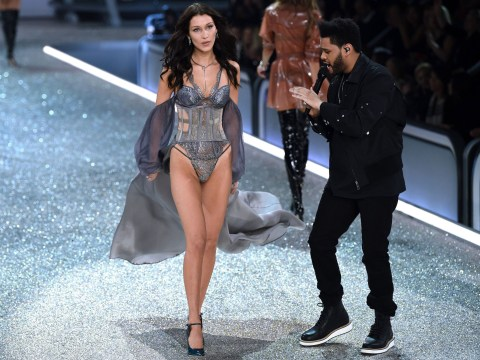 Awkward! Did Bella Hadid totally ignore The Weeknd on the Victoria's Secret runway?