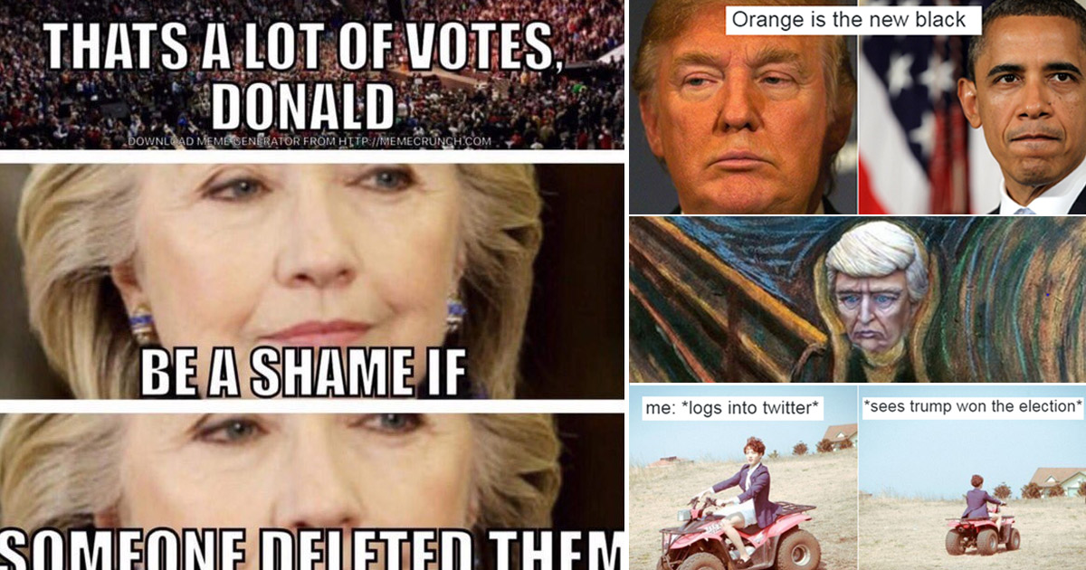 Trump memes: The best Donald Trump memes as he wins US election