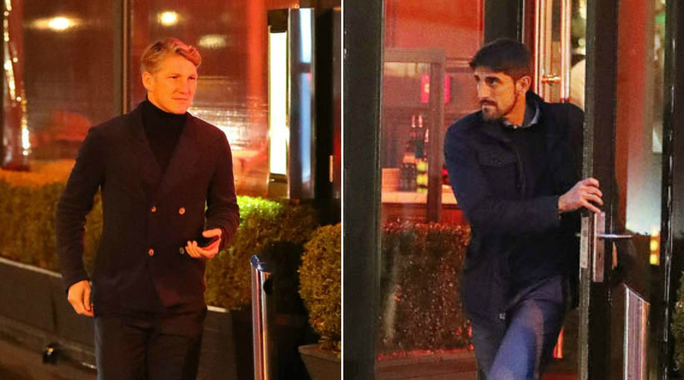 Bastian Schweinsteiger has four-hour lunch with MLS boss as he edges closer to Manchester United exit