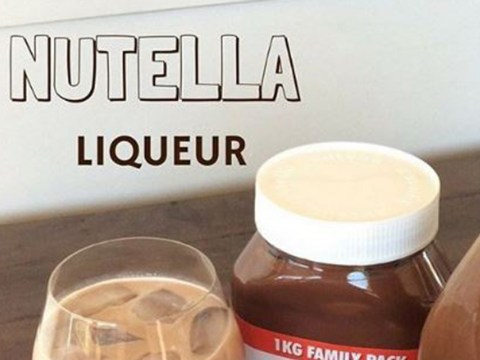 Stop the train, someone's made a Nutella liqueur