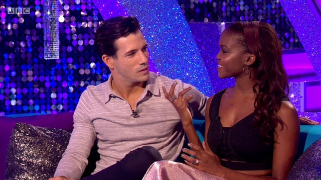 Danny and Oti on Strictly Come Dancing (Picture: BBC)