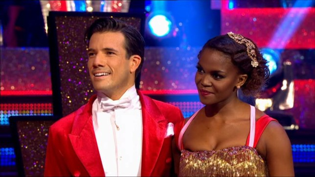 Danny and Oti got the first 40 of the year (Picture; BBC)