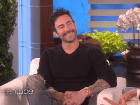 Adam Levine reveals how Ellen DeGeneres ended up naming his daughter Dusty Rose
