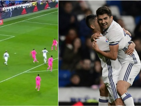 Video: Enzo Fernandez scores on his Real Madrid debut after father Zinedine Zidane subbed him on