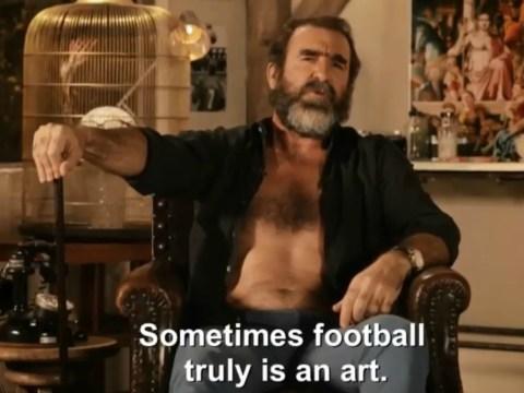 Manchester United legend Eric Cantona lauds Mesut Ozil's goal for Arsenal v Ludogorets