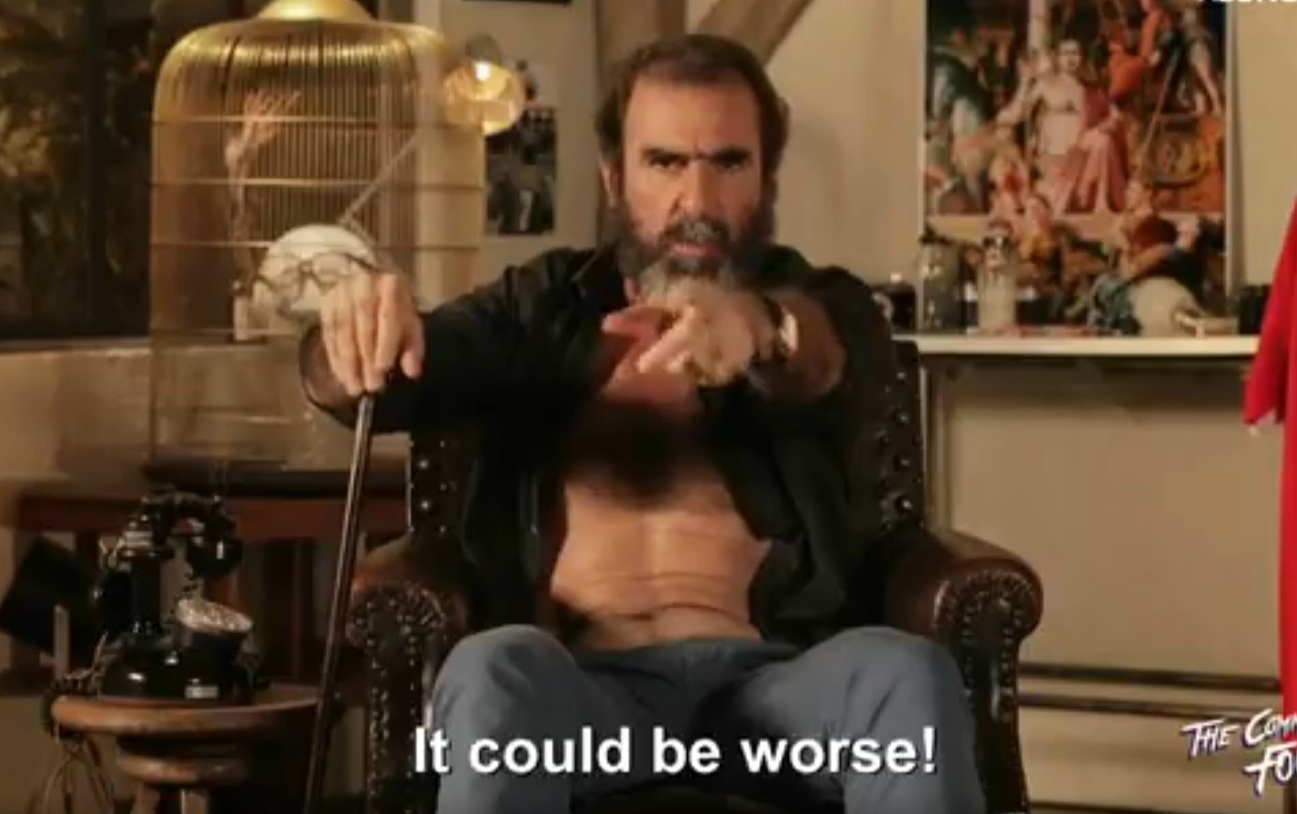 Manchester United legend Eric Cantona begs fans to give Jose Mourinho more time