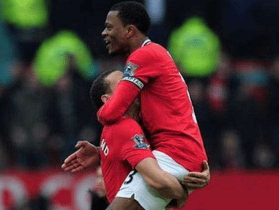 Patrice Evra sends touching message to former Manchester United team-mate Rio Ferdinand on his birthday