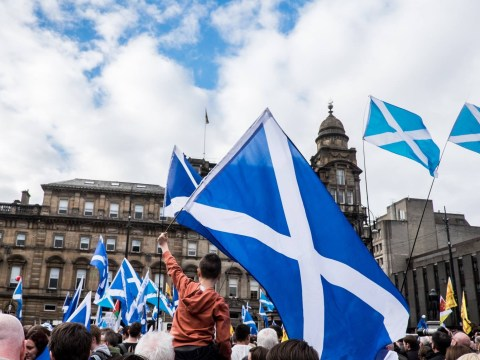 As Scots celebrate St Andrew's Day, where did the Scottish flag come from?