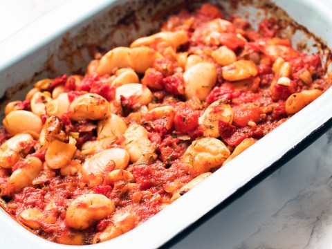 Vegan recipe video: How to make Greek-style baked beans
