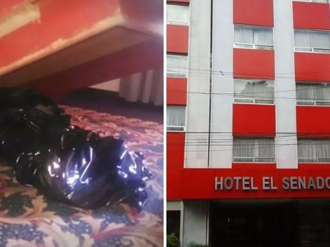 Rotting corpse discovered beneath hotel bed where guests had slept for over a week