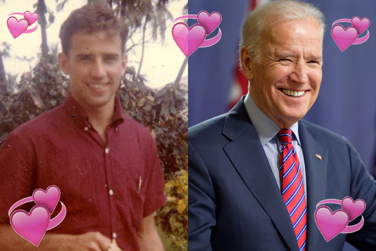 No one can cope with how hot Joe Biden was back in the day