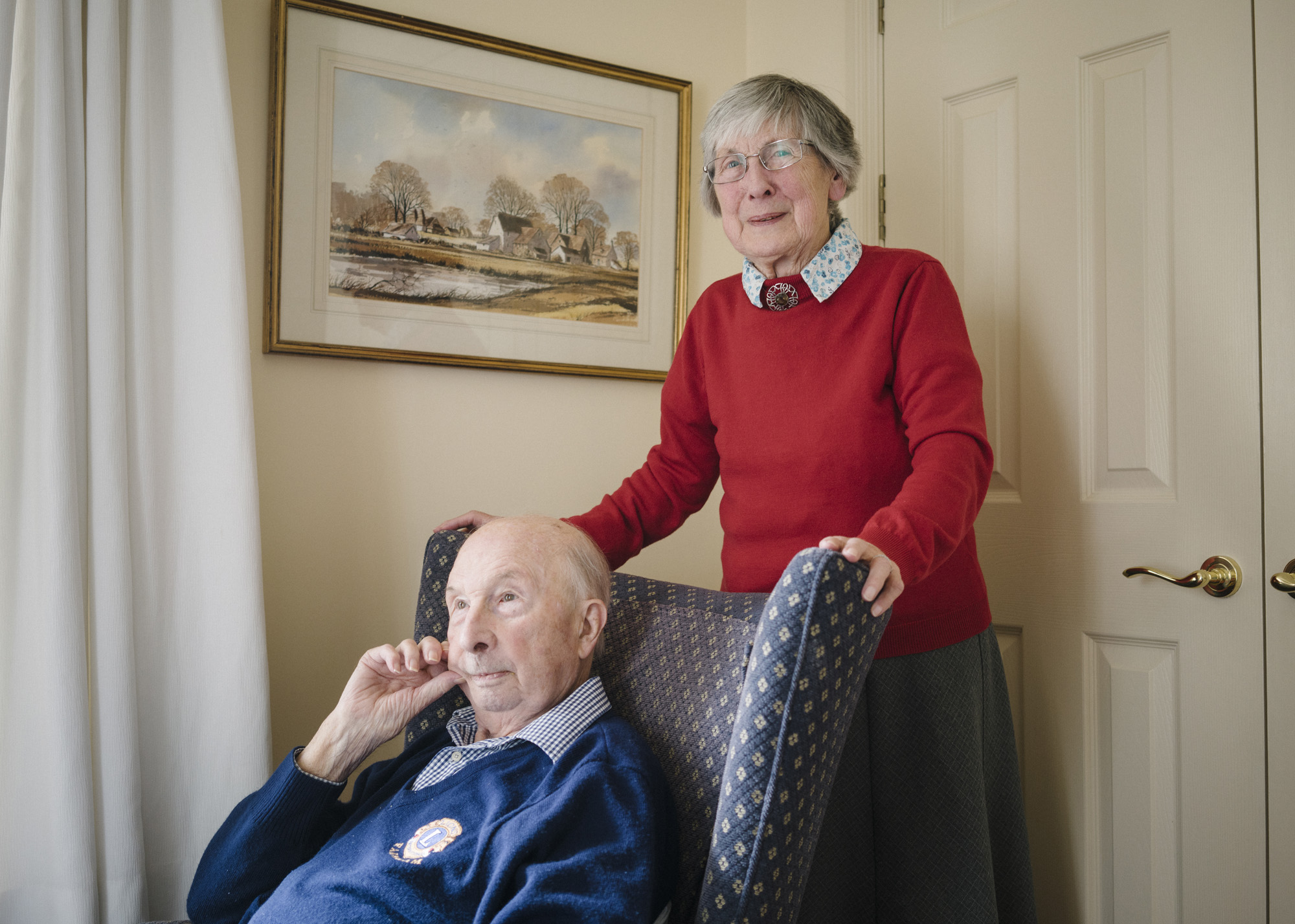 Couples in Sunrise Care Homes for The Metro. (Picture: Marco Kesseler for Metro.co.uk)