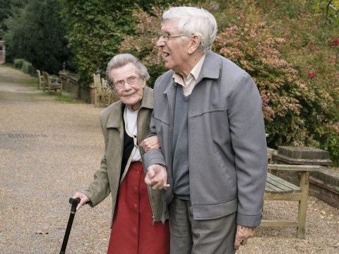 Couples living together in care homes share their love stories