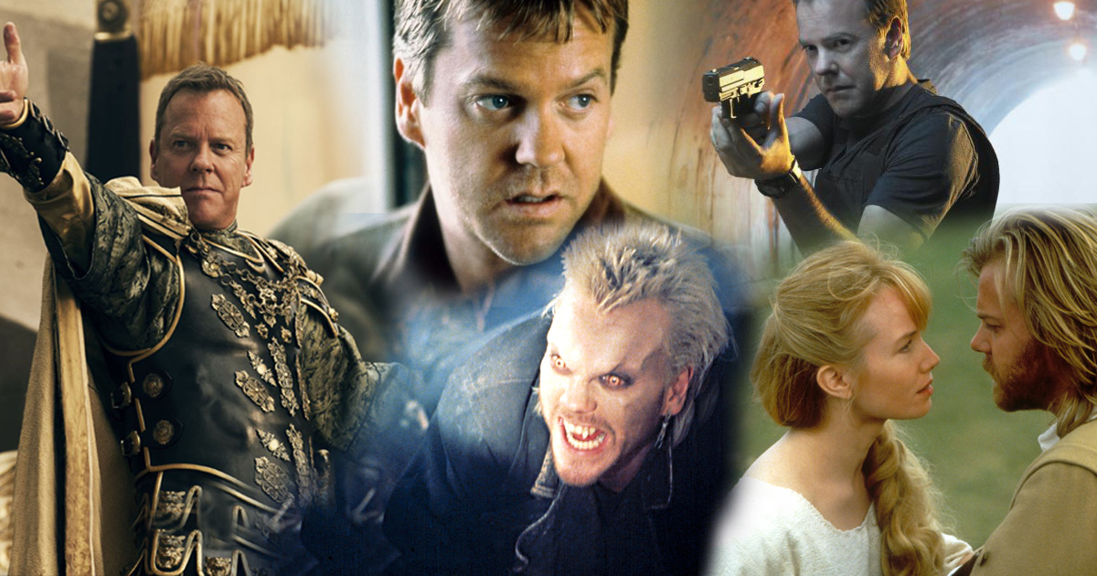 Happy birthday Kiefer Sutherland! Here are 18 of the 24 actor's most memorable roles