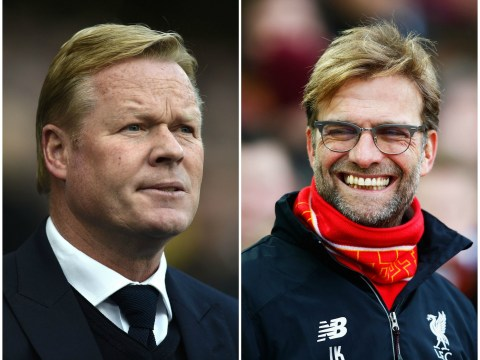 Ronald Koeman risks the wrath of Everton fans by admitting Liverpool have a 'good chance' of winning title