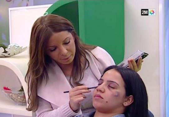 Moroccan state TV gives make-up tips on how to cover up domestic violence