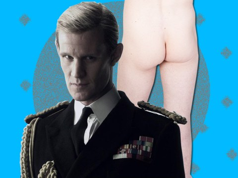 Matt Smith says he was speechless when he was asked to bare his bum for Netflix royal drama The Crown