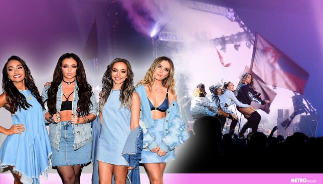 Little Mix say they're up for heading to Worthy Farm (Picture: Metro/ Getty Images)