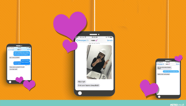 This mum sends her daughter the sweetest texts Picture: Getty Images