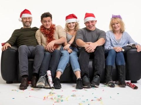 First photo of Outnumbered's Christmas special proves it's still weird seeing the kids grown up