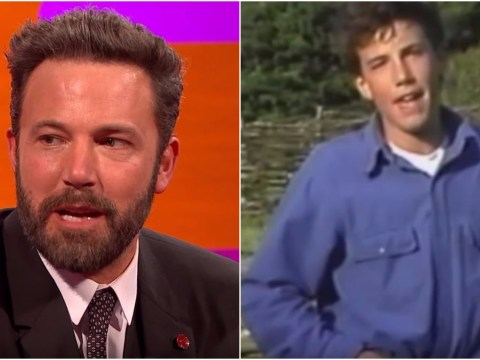 Check out a young Ben Affleck presenting a kids' show about Greenwich Mean Time