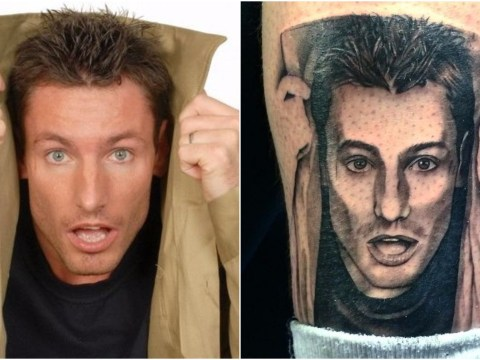 Someone's had a surprised Dean Gaffney tattoo done and frankly, we're well jel