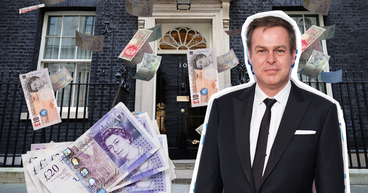 Peter Jones' odds to be next Prime Minister are in – place your bets