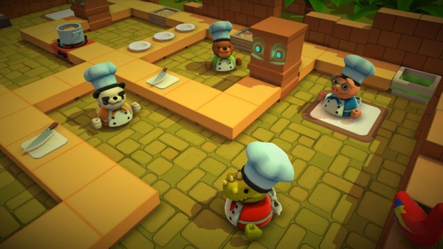 Overcooked: Gourmet Edition (PS4) - would you trust these chefs?