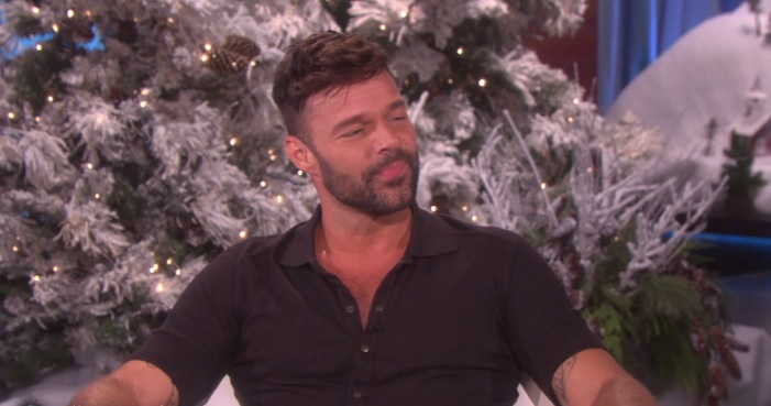 Ricky Martin is engaged! And he did the proposing