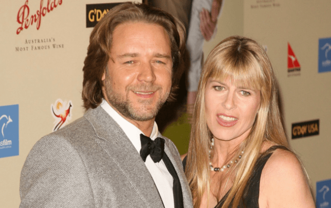 Russell Crowe and Terri Irwin are said to be dating (Picture: Jason Merritt/FilmMagic)