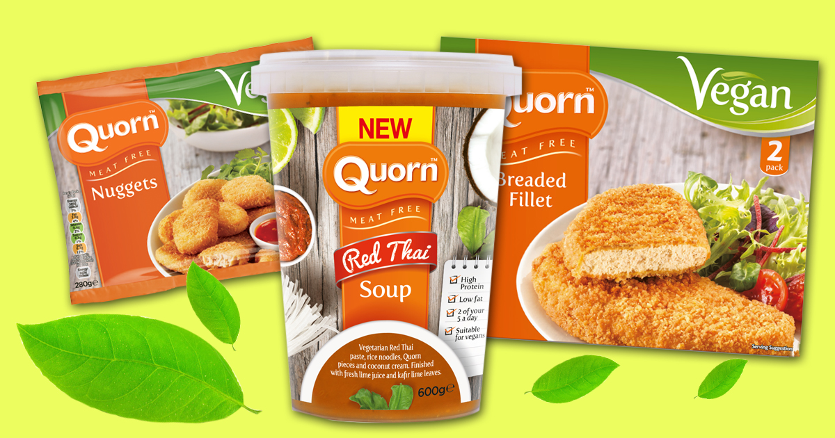 Loads of your fave Quorn products are now vegan